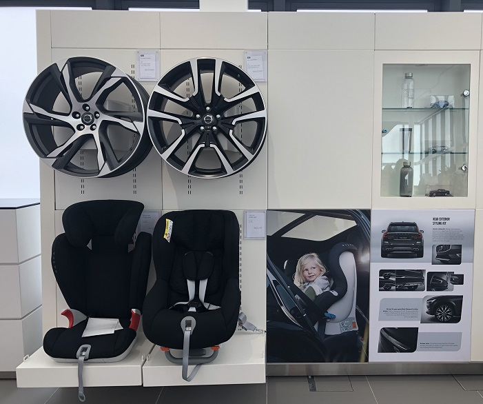 rims and child seat