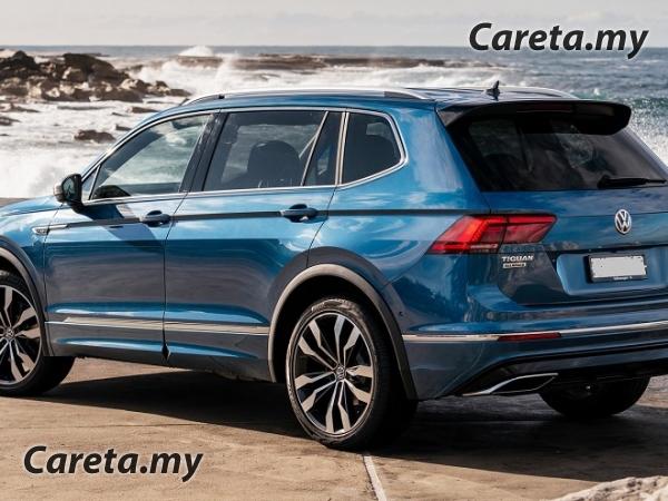 Volkswagen Tiguan Allspace R-Line 2021 ditambahbaik   Careta